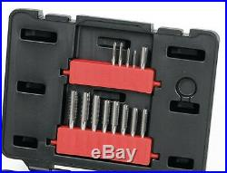 GearWrench 40 Piece Ratcheting Tap and Die Drive Tool Set Metric 3 12mm 3886