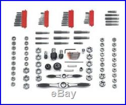 GearWrench 82812 Large SAE/Metric Ratcheting Tap and Die Set 114 Pc