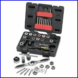GearWrench METRIC RATCHETING TAP & DIE SET 3886 40Pieces Spring-Loaded Cap