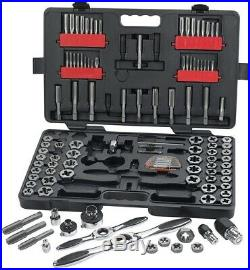 GearWrench Ratcheting Tap And Die Set Hand Tool Auto locking Steel (114-Piece)