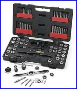 Gearwrench 3887 75 Piece Gearwrench Sae/Metric Tap And Die Set