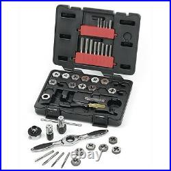 Gearwrench 40 Piece Metric Ratcheting Tap and Die Drive Tool Set 3886