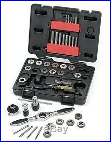 Gearwrench 40pc Metric Tap & Die Set with Ratcheting Handle 3-12mm #3886