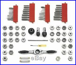 Gearwrench Tap And Die Set Ratcheting Wrench 75 Piece Combination Sae / Metric