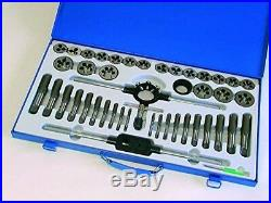 Hilka 48404500 Pro Craft Tungsten Steel Tap and Die Set (45-Piece)