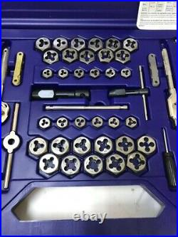 IRWIN 26376 76-PIECE PRO TAP AND DIE SUPER SET Metric SAE Pipe Machine Screw