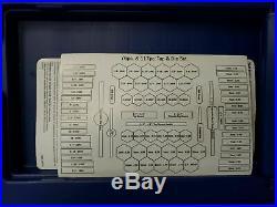 IRWIN HANSON #26376 Tap/Die Set, 76pc, NC, NF, Metric, NPT NEVER OPENED-FREE SHIP