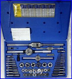 Irwin 26394 53-pc Metric Tap & Hex Die Set