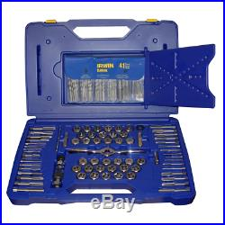 Irwin Hanson 116 Piece Ratchet Drive Tap / Die / Drill Set with PTS Handle 1813817
