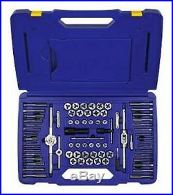 Irwin Hanson 26376 76 Piece Machine ScrewithFractional/Metric Tap and Hex Die Set