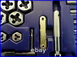 Irwin Hanson 26376 76-pc Machine Screw, Fractional, Metric Tap & Hex Die Set
