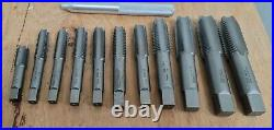 Irwin Hanson 97312 Metric Tap and Die Set 28 Pieces 14mm 24mm NO CASE