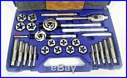 Irwin Hanson 97312 Metric Tap and Die Set Main Case with 28 Pieces 14mm 24mm