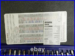 Irwin Hanson Metric 40 Piece Tap Die and PTS Drive Tool Set 1835092