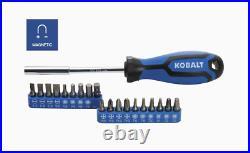 Kobalt 232-Piece Standard (SAE) and Metric Combination Polished Chrome Mechanics