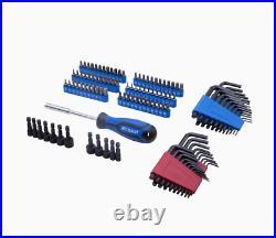Kobalt 286-Piece Standard (SAE) and Metric Combination Polished Chrome Mechanics