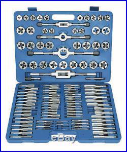 Laser 110 Piece Metric Tap Wrench & Split Die Set Fine/Coarse Case 4554