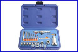 Laser Tools 5457 Tap & Die Set With Ratchet & Extension 20piece M3 M12
