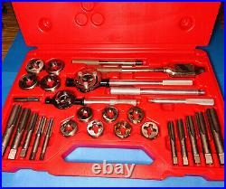 Like New Snap-On TDM99117B 25 pc Metric Tap and Die Set 14-24mm