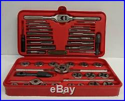 MAC TOOLS METRIC TAP AND DIE SET 8017TS MADE IN THE USA Missing 1 Piece CLEAN