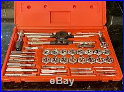 MAC TOOLS TAP AND DIE SET METRIC 40 PIECE Excellent Condition FREE SHIPPING