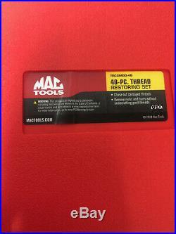 MAC TRCOMBO-48 48 Piece Rethreading Tap and Die Set US & Metric