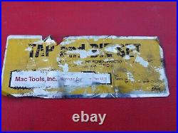 MAC Tools 76 Piece Tap and Die Set SAE / Metric