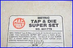 MAC Tools 8017TS Metric Tap and Die Super Set withCase
