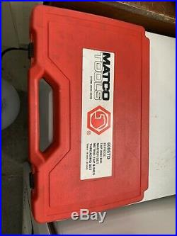 MATCO TOOLS NEW 25 PIECE LARGE METRIC TAP AND DIE SET 14mm 24mm 6095TD