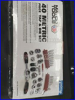 MATCO Tools 40MTDS Tap Tool and Die Set 40 Piece Metric Aichi Steel NEW 2763