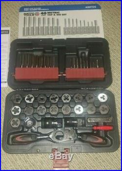 MATCO Tools 40MTDS Tap Tool and Die Set 40 Piece Metric Aichi Steel Used