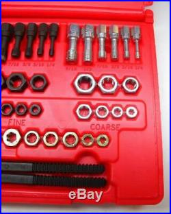 MINT Snap-On 48 pc Master Rethreading Tap and Die Set RTD48 Free USA Shipping