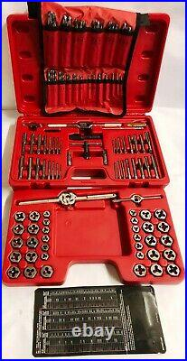 Mac Tools 117-pc Combo Tap And Die Set TD117COMBOS Standard And Metric Mint