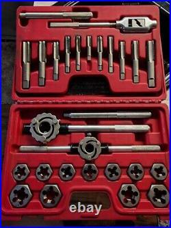 Mac Tools 25 piece Metric Tap and Die Set, NewithUsed