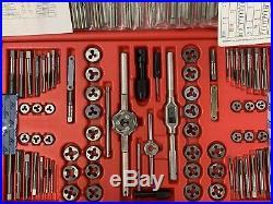 Mac Tools Tap Die Set With Extractor Td Plus 117 Piece Tool Metric Standard