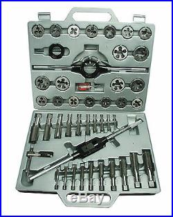 Mannesmann Tap and Die Set 45 pc / M6 M24mm Tungsten Steel Thread Cutting TUV