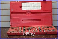 Matco 676TD 76pc Fractional & Metric Tap & Die Set MISSING 1 PIECE