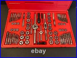 Matco 676TD Tap And Die Set 76 Piece Machine Screw Fractional & Metric