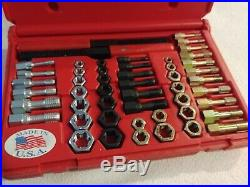 Matco Tools 51 Piece Rethreading Tap and Die Set TR51K Complete