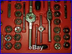 Matco Tools Combo Tap & Die Set Sae Metric Pipe & Drills