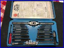 Matco Tools Metric 42 Pieces + Case Tap & Die Super Set No. 6312
