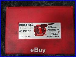 Matco Tools TD40M 40pc Tap and Die Threading Set. F33