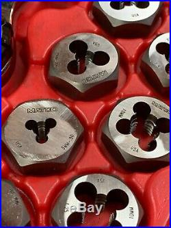 Matco Tools TD40M 40pc Tap and Die Threading Set Metric Great Condition