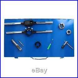 Metric MM Large M6 M24 Tap and Die Set Thread Rethreading Set Tools 45pc