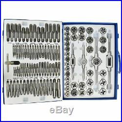 Metric Tap and Die Set 110pc Thread Repair M2 M18 Taper Plug TE342