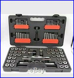 NEW Craftsman 75 Piece Tap & Die Carbon Steel Set Combo with Case SAE and Metric