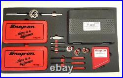 NEW Snap On SAE & Metric Tap And Die Set Plus Extras