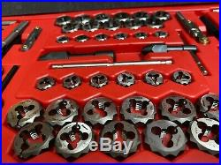 NEW Snap On Tools TDTDM500A 76 pc Combination Tap & Die Set Threading Sae/Metric