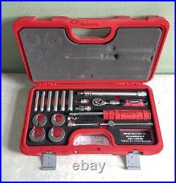 Nerrad Tools NTTAPXKIT1 Tapex Kit 18 Piece Advanced Tap Wrench Technology