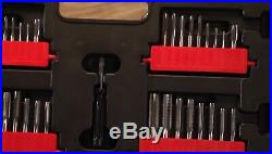 New CRAFTSMAN 75 piece Tap & Die Set Combo & CASE Carbon Steel SAE Inches Metric